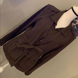 SANCTUARY Military Tie-Front Jacket S